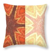 Dual Personality Throw Pillow by PainterArtist FIN