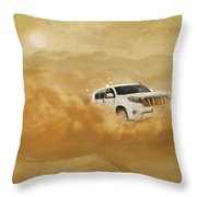 Dubai Safari  Throw Pillow