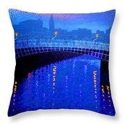 Dublin Starry Nights Throw Pillow