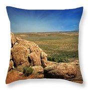 Dubois Landscape Throw Pillow