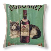 Dubonnet Wine Tonic Dsc05585 Throw Pillow