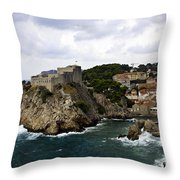 Dubrovnik In Focus Throw Pillow