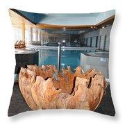 Dubrovnik Palace Pool Throw Pillow