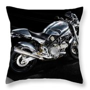 Ducati Monster Cafe Racer Throw Pillow