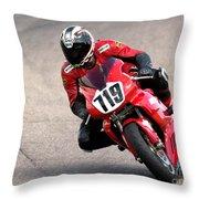 Ducati No. 719 Throw Pillow