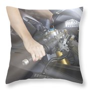 Ducati Touch V2 Throw Pillow