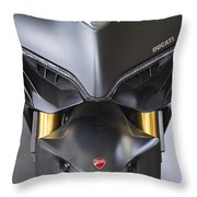 Ducati-unplugged V10 Throw Pillow