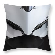 Ducati-unplugged V12 Throw Pillow