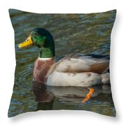 Duck Call Throw Pillow