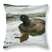 Duck Day Afternoon Throw Pillow