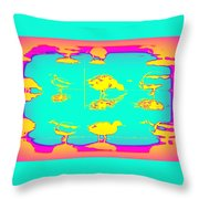 The Ducks Must Have Their Own Heaven Throw Pillow