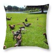 Duck Season Throw Pillow