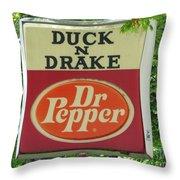 Duckter Pepper Throw Pillow