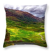 Duddon Valley Throw Pillow