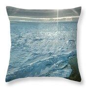 Due South 1.30am Ross Sea Throw Pillow