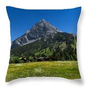 Duendenhorn Mountain Throw Pillow