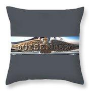 Duesenberg  Throw Pillow