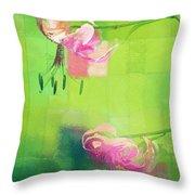 Duet - J052064173gr Throw Pillow