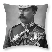 Duke Of Connaught (1850-1942) Throw Pillow
