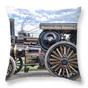 Duke Of York Traction Engine 4 Throw Pillow