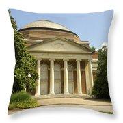 Duke University Baldwin Auditorium Throw Pillow