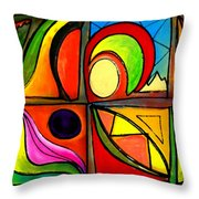 Dulce Throw Pillow