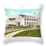 Duluth Minnesota - Northland Country Club - 1915 Throw Pillow
