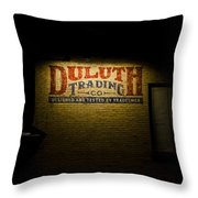 Duluth Trading Company Throw Pillow