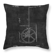Dumping Cart Patent 011 Throw Pillow