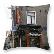 Dun Yong Amsterdam Throw Pillow
