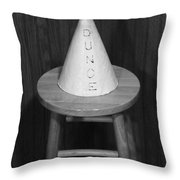 Dunce Hat Throw Pillow