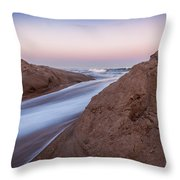 Dune Break Throw Pillow