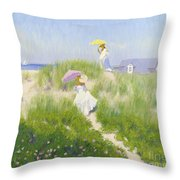 Nantucket Dune Pass  Throw Pillow