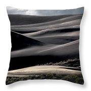 Dune Texture Throw Pillow