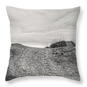 Dune Trail Throw Pillow