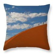 Dune Walkers Throw Pillow