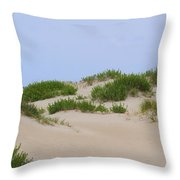 Dunes And Grasses 6 Throw Pillow