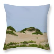 Dunes And Grasses 7 Throw Pillow