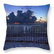 Dunes At Dawn Throw Pillow