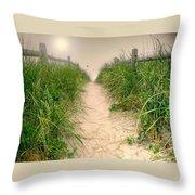 Dunes Catch Light Throw Pillow by Diana Angstadt