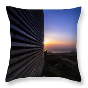 Dunes Sunset Throw Pillow