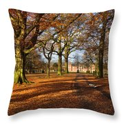 Dunham Massey Throw Pillow