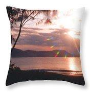 Dunk Island Australia Throw Pillow