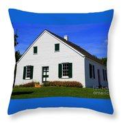 Dunker Church Throw Pillow