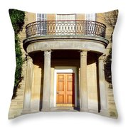 Dunlap Observatory Abandoned Building Throw Pillow