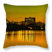 Dunlawton Morning Throw Pillow