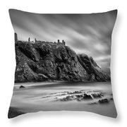 Dunnottar Castle 2 Throw Pillow by Dave Bowman
