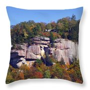 Dunn's Rock 2 Throw Pillow