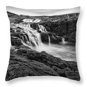 Dunseverick Waterfall Throw Pillow