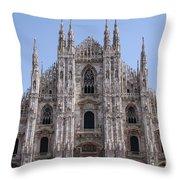 Duomo Di Milano Throw Pillow